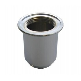 Bottle Trap Accessory | 32 x 32mm Brass Cylindrical Back Nut | Chrome | Code: BSD-030